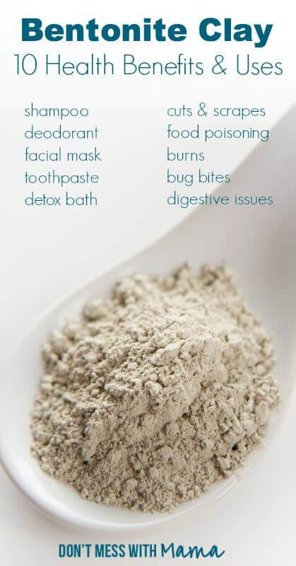 10 Healthy Uses for Bentonite Clay