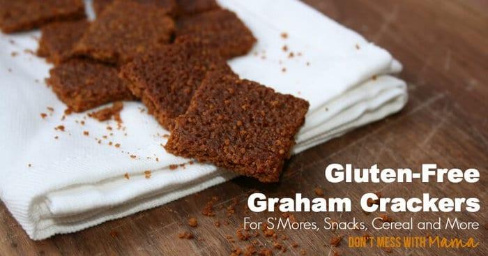 Gluten-Free Graham Cracker Recipe #glutenfree - DontMesswithMama.com
