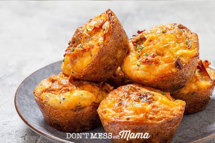 Crustless Artichoke & Cheese Quiche #glutenfree #grainfree #primal - DontMesswithMama.com