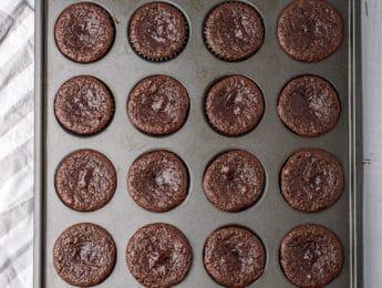 baked zucchini muffins
