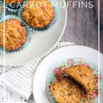 Gluten-Free Carrot Apple Sunshine Muffins - DontMesswithMama.com