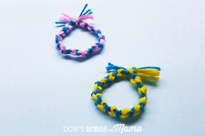 DIY Friendship Bracelet + Aromatherapy On the Go - Don't Mess with Mama