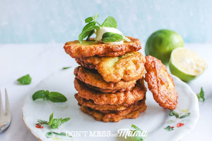 Gluten-Free Zucchini Fritters - Don't Mess with Mama