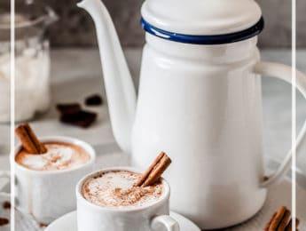 Homemade Peppermint Hot Cocoa Recipe #homemade #hotchocolate #recipe - DontMesswithMama.com