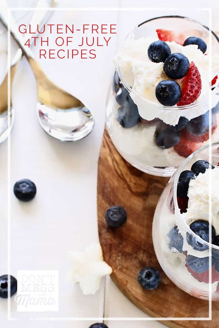 20 Paleo and Gluten Free 4th of July Recipes