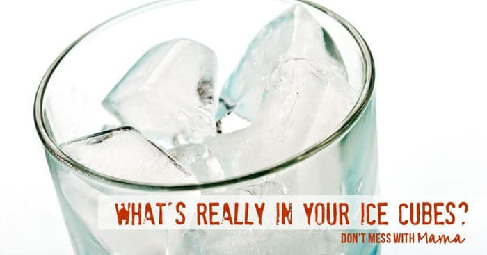 What's REALLY In Your Ice? Could It Make You Sick? - DontMesswithMama.com