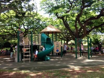 Playground at Honolulu Zoo