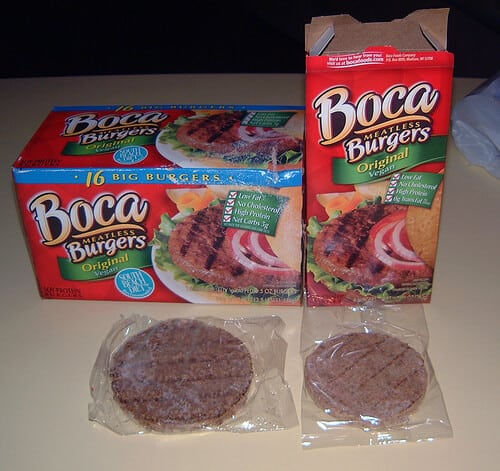 Boca Burgers - read more for a healthy alternative