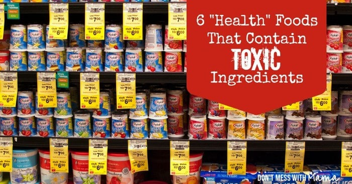 6 Toxins in Health Foods
