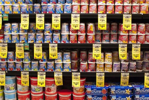 Yogurt on a Shelf - read more for a healthy alternative