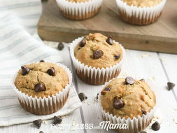Gluten-Free Banana Coconut Mini Muffins - these muffins are the perfect breakfast on the go or after school snack. They are perfect bite-sized treats made with real food ingredients - DontMesswithMama.com