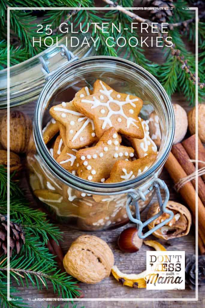 25+ Gluten-Free Holiday Christmas Cookie Recipes - DontMesswithMama.com