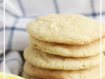 Gluten-Free Lemon Cookies recipe - these cookies are slightly sweet and tart - perfect for an afterschool snack or light treat - DontMesswithMama.com