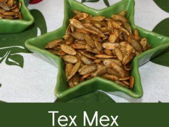 Tex Mex Pumpkin Seeds - Healthy, Copycat Doritos - DontMesswithMama.com