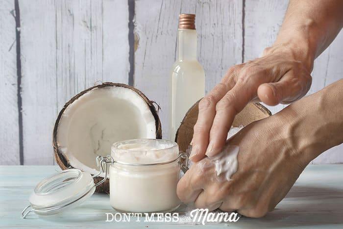 DIY Skin Salve in a jar