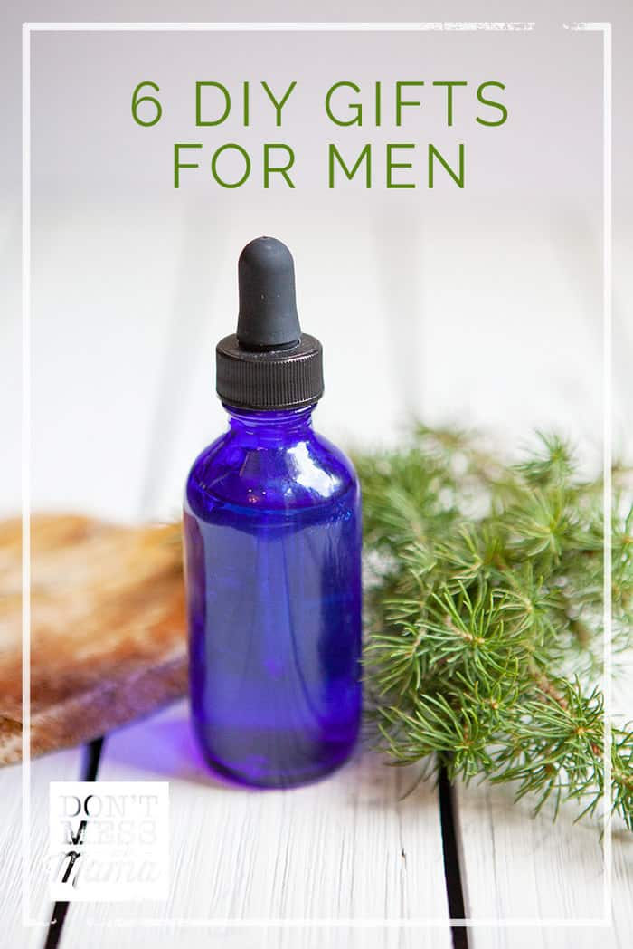 Check out these DIY Gifts for Men you can make with simple ingredients from your pantry and bathroom cabinet, such as shave gel, aftershave spray, beard oil and more.