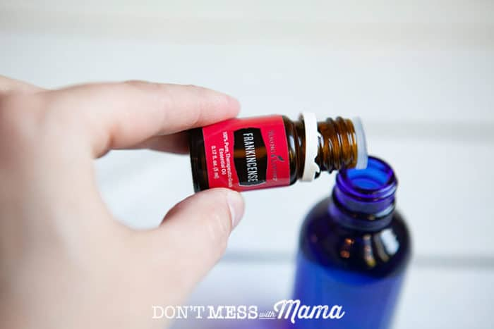DIY Facial Oil Moisturizer - Don't Mess with Mama