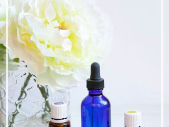 DIY Facial Oil Moisturizer - make your own skin-nourishing moisturizer with just 3 ingredients - DontMesswithMama.com