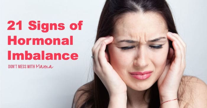 21 Signs of Hormonal Imbalance