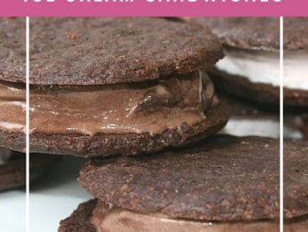 Gluten Free Ice Cream Sandwich Cookies - enjoy these gluten-free treats anytime - DontMesswithMama.com