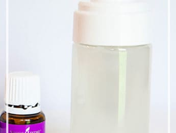 DIY Facial Cleanser for All Skin Types - make this easy homemade facial cleanser with just a few ingredients - DontMesswithMama.com