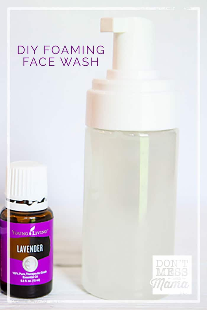 Diy Face Wash Foaming Facial Cleanser For All Skin Types