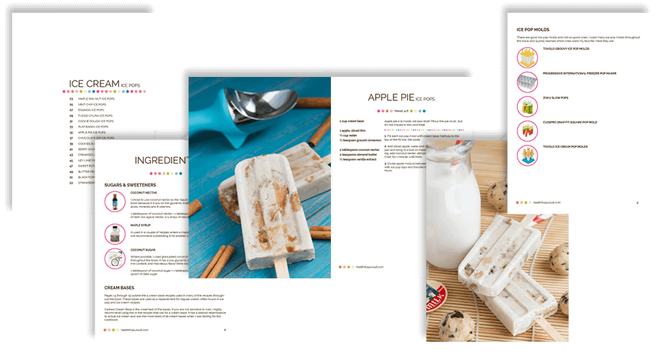 Purely Pops Cookbook Pages - DontMesswithMama.com