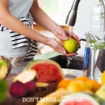 DIY Homemade Fruit and Vegetable Wash - 2 Easy Recipes to Save You Money #DIY #essentialoils - DontMesswithMama.com