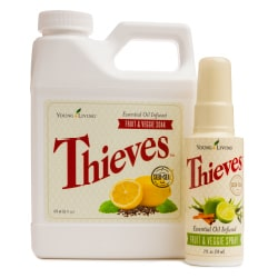 Thieves Fruit & Veggie Soak - DontMesswithMama.com
