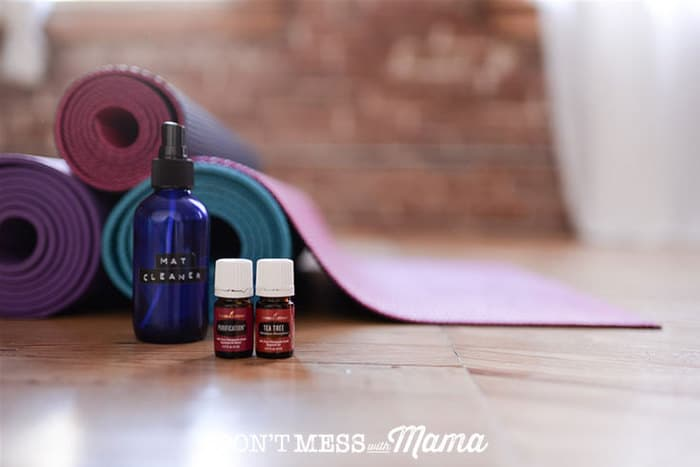 Diy Yoga Mat Cleaner Spray Don T Mess With Mama