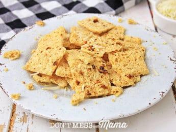 Gluten-Free Cheese Crackers Recipe