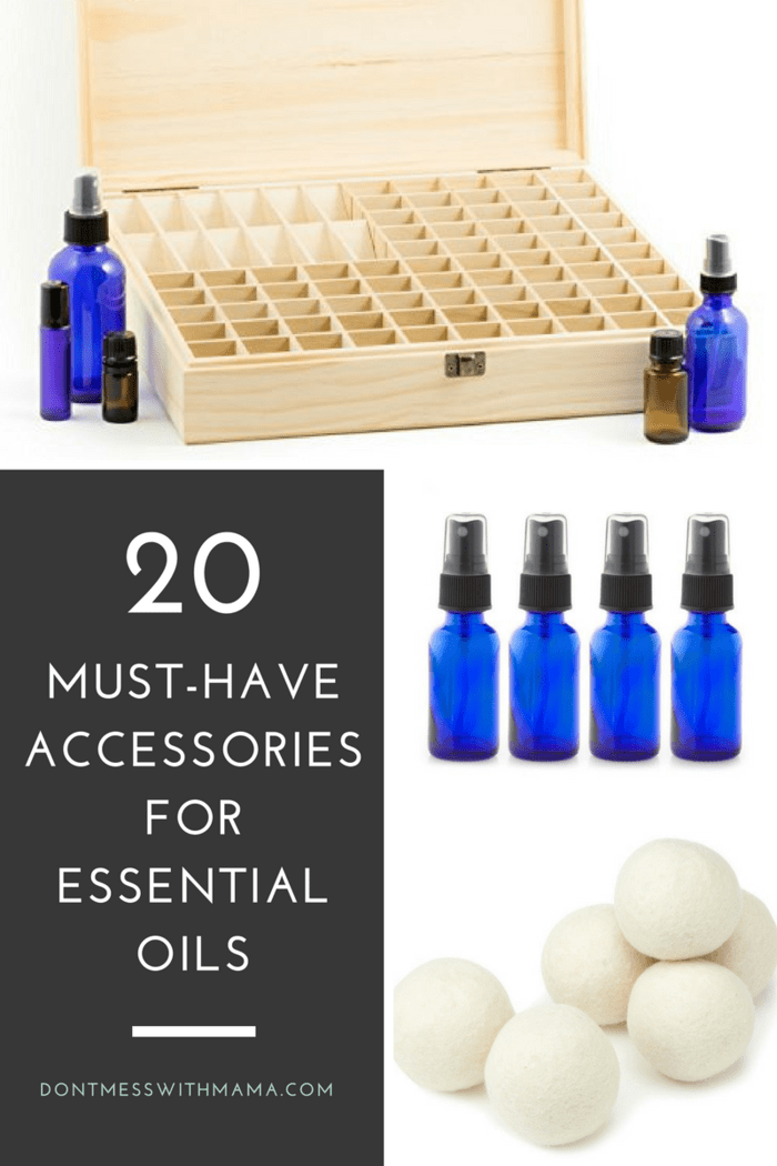 Top 20 Essential Oils Accessories and Supplies - DontMesswithMama.com