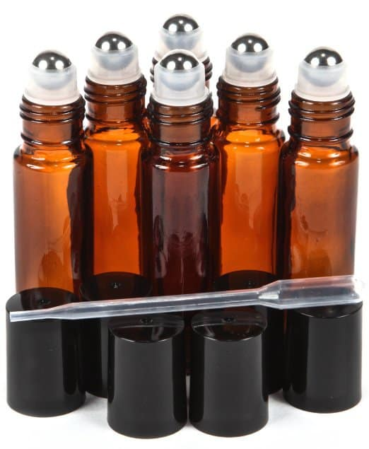 Roller Ball Bottles to make custom essential oil blends - Top 20 Essential Oils Accessories and Supplies - DontMesswithMama.com
