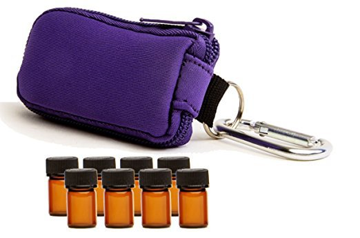 Keychain Travel Case - Top 20 Essential Oils Accessories and Supplies - DontMesswithMama.com