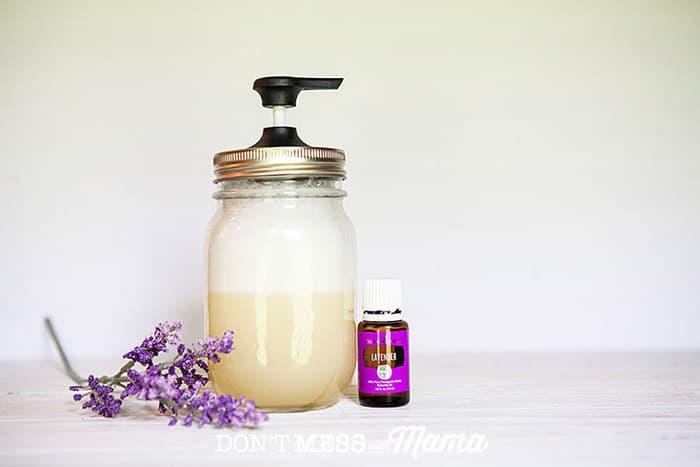 Homemade Natural Baby Shampoo and Wash