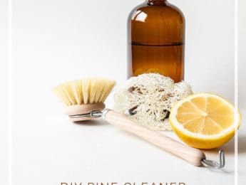 DIY Natural Pine Cleaner (Homemade Pine-Sol) for Wood Floors and Furniture #natural #DIY - DontMesswithMama.com