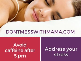 10 Natural Ways to Sleep Better - try these home remedies and chemical-free options - DontMesswithMama.com