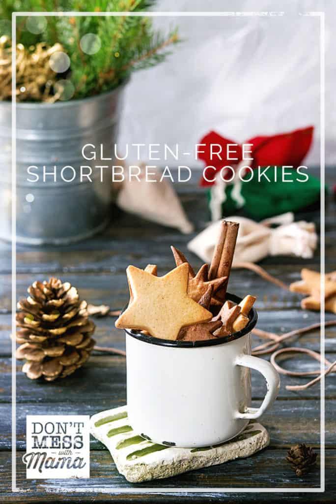Gluten-Free Shortbread Cookies - DontMesswithMama.com