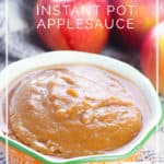 Instant Pot Applesauce - make this easy applesauce with just two ingredients - DontMesswithMama.com