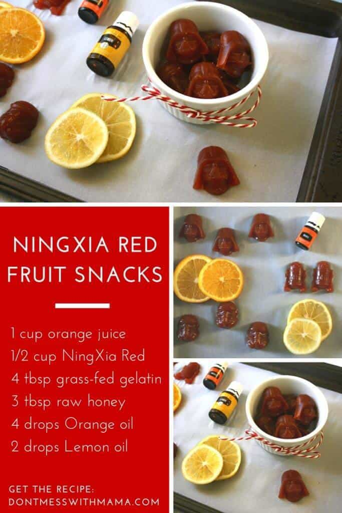 NingXia Red Fruit Snacks - this is a nutritious treat made with NingXia Red antioxidant drink - DontMesswithMama.com