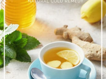 Honey Lemon Ginger Elixir in a mason jar