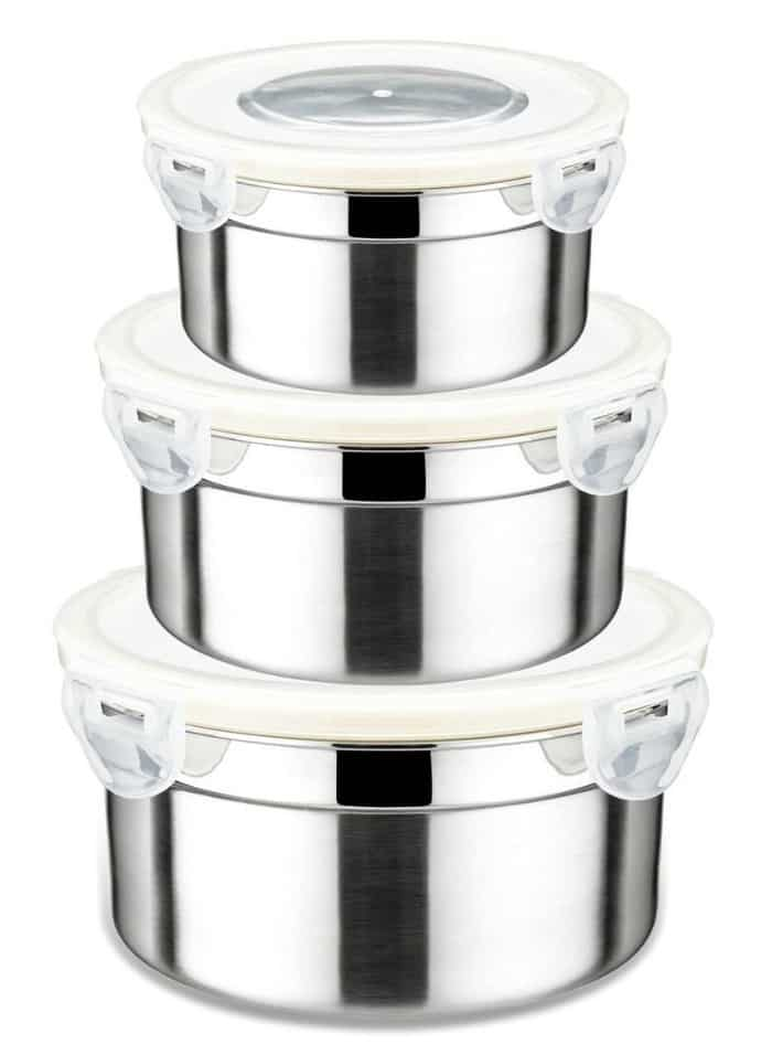 Stainless Steel Containers + 10 Fun Essential Oil Accessories - DontMesswithMama.com