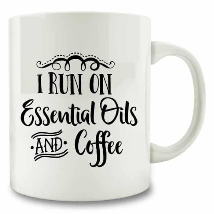 Essential Oil Mug + 10 Fun Essential Oil Accessories - DontMesswithMama.com