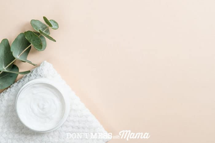 DIY Chest Rub Recipe - make your own version of Vick's Vapor Rub with this easy homemade version - DontMesswithMama.com
