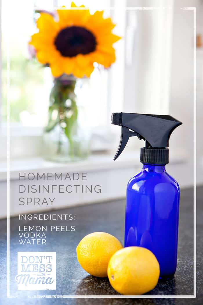 diy disinfectant spray homemade lysol don t mess with mama