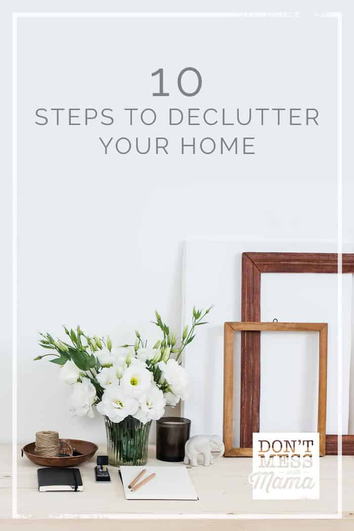 Find out how you can declutter your home to make space for the things you LOVE. I've got lots of KonMari tips to channel your inner minimalist.
