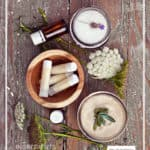 DIY Lip Scrub - exfoliate lips with this easy-to-make lip scrub made with natural ingredients - DontMesswithmama.com