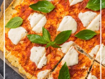 25 Gluten-Free Pizza Crust Recipes (Paleo, Low Carb, Vegan Options) - don't feel guilty about eating pizza with these healthy gluten free and grain free recipes - DontMesswithMama.com