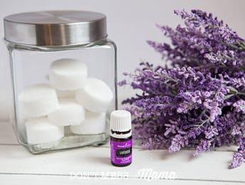 DIY Lavender Shower Melts