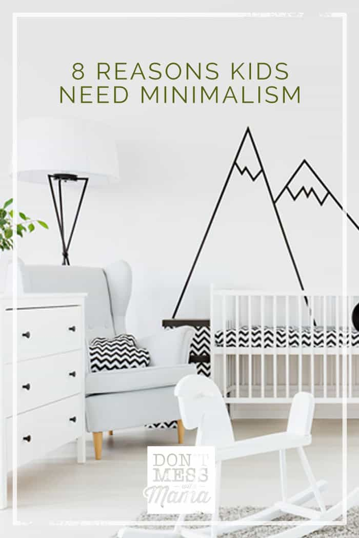 Minimalist living can help help kids to be calmer, more peaceful and more focused. Learn more reasons why kids need minimalism.